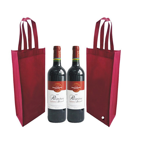 Non woven wine bottle bag 82175