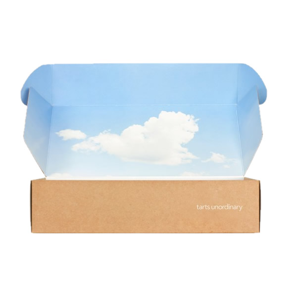 Both sides printing packing shipping box 31149