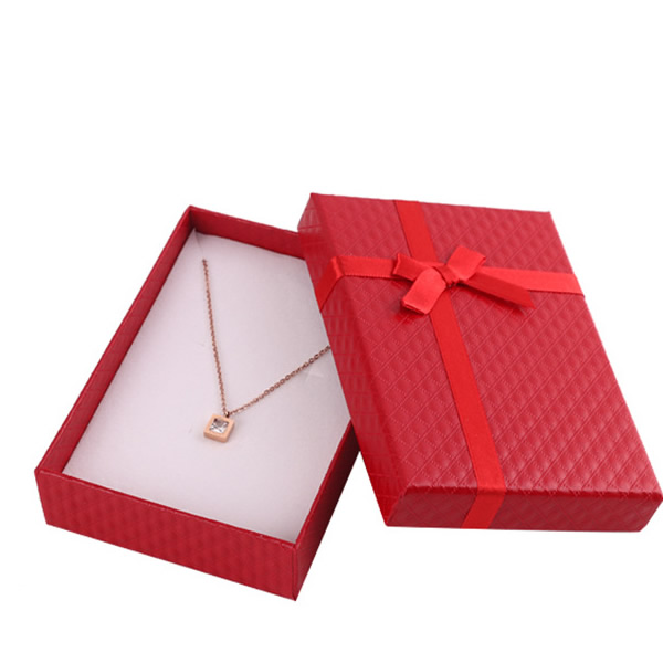 Jewelry necklace box supplier 18802