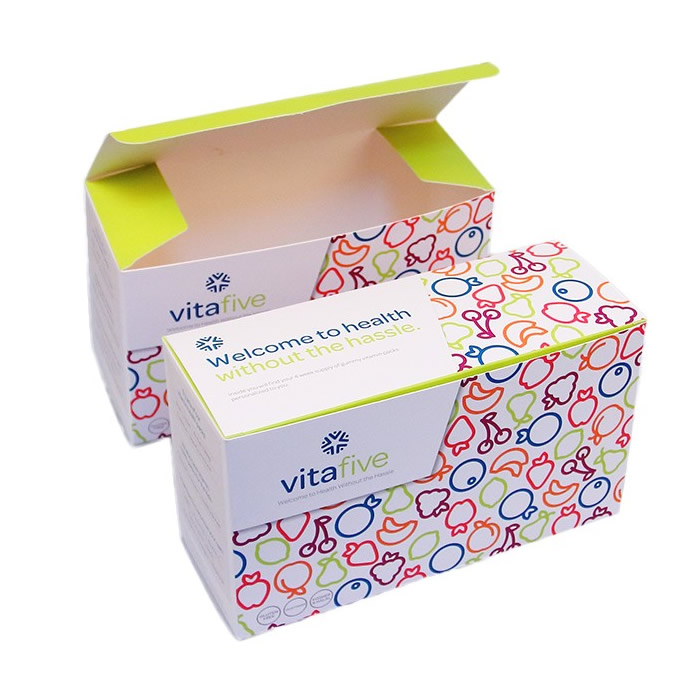 Custom Vitamin Medicine Paper Box 26012