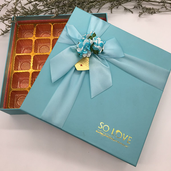 Color chocolate packaging box 63160